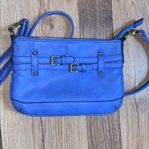 Blue target Merona purse